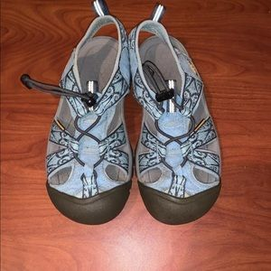 Keen Womens Hiking Sandals Waterproof Blue Size 6